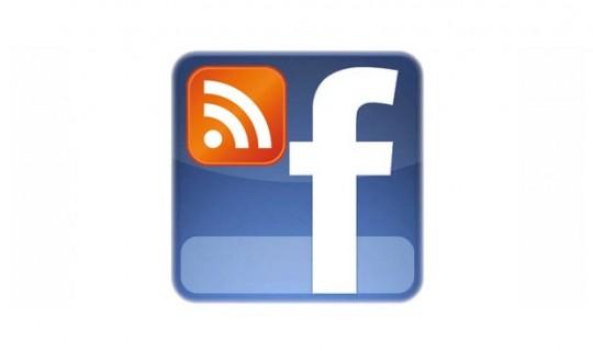 Blog feed til facebook fanside