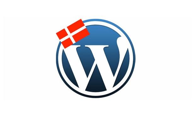 WordPress på dansk