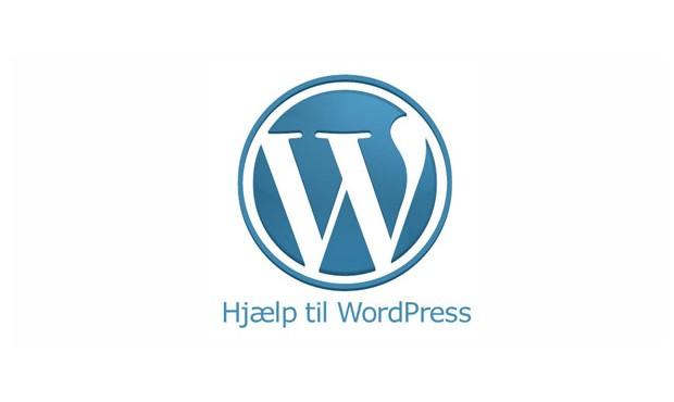 Hjælp til opsætning af WordPress theme, plugin, opsætning mm.
