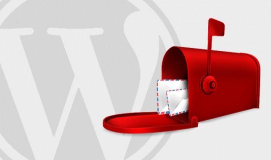 WordPress Brevkasse